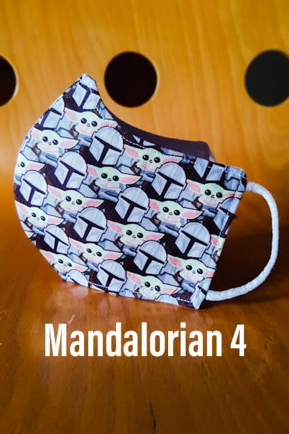 Mascarilla Mandalorian 4