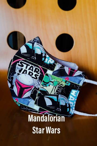 Mascarilla Mandalorian Star Wars