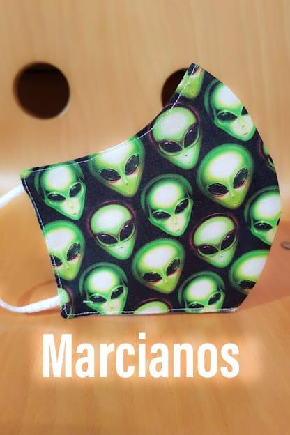 Mascarilla Marcianos