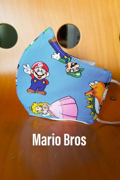 Mascarilla Mario Bros