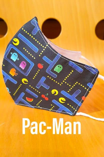Mascarilla Pac-Man