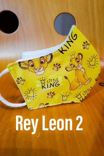 Mascarilla Rey Leon 2