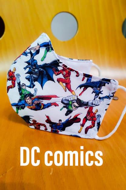 Mascarilla de tela DC Comics