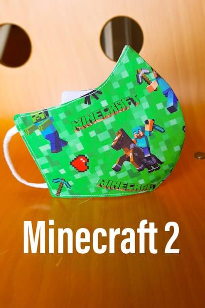 Mascarillas Minecraft 2