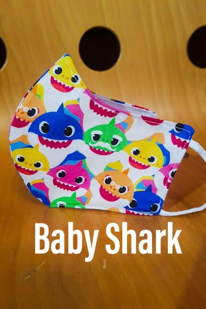 mascarilla Baby Shark