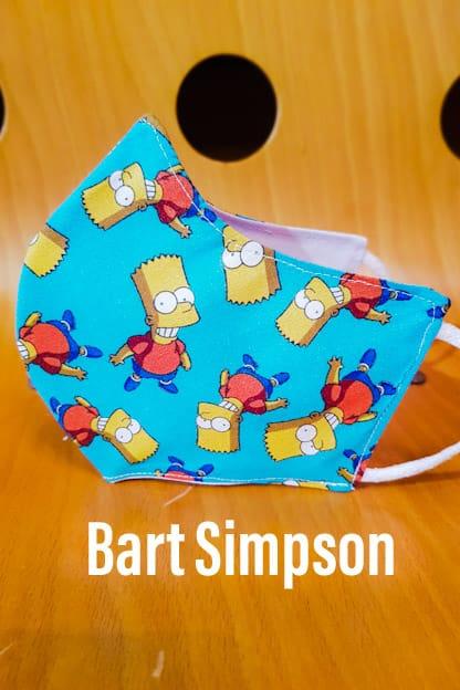 mascarilla Bart Simpson