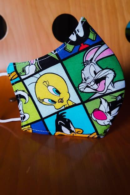 mascarilla Looney Tunes