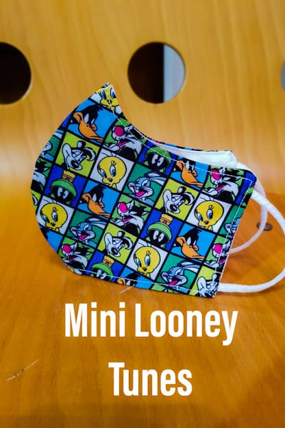 mascarilla Mini Looney Tunes