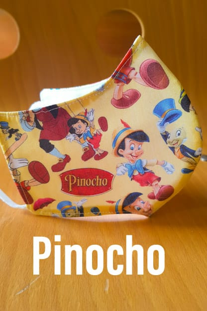 mascarilla Pinocho