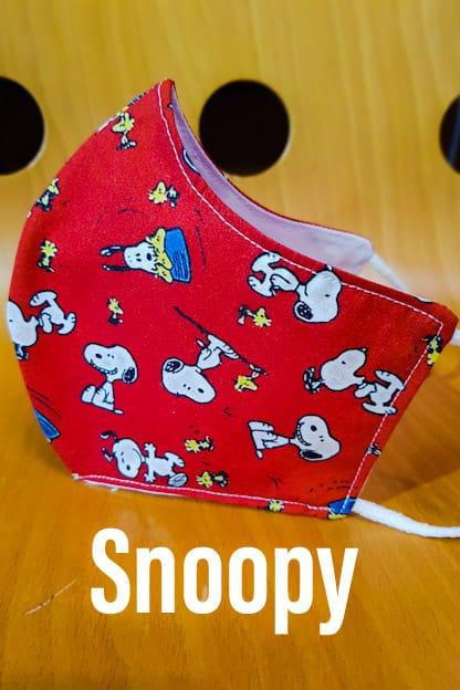 mascarilla Snoopy