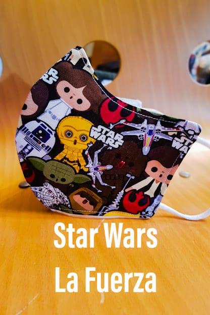 mascarilla Star Wars La Fuerza