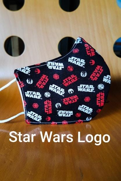 mascarilla Star Wars Logo