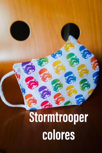 mascarilla Stormtrooper colores