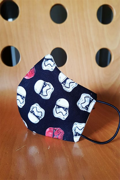 Mascarilla Star Wars