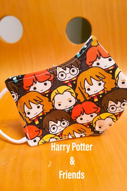 mascarilla Harry Potter & Friends