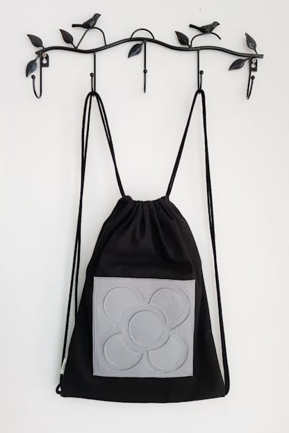 mochila saco panot gris