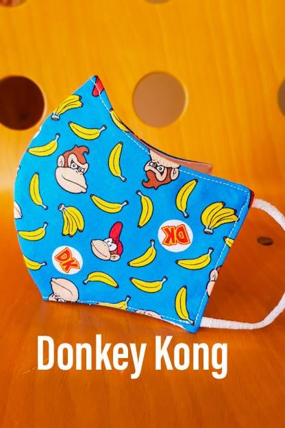 mascarilla Donkey Kong