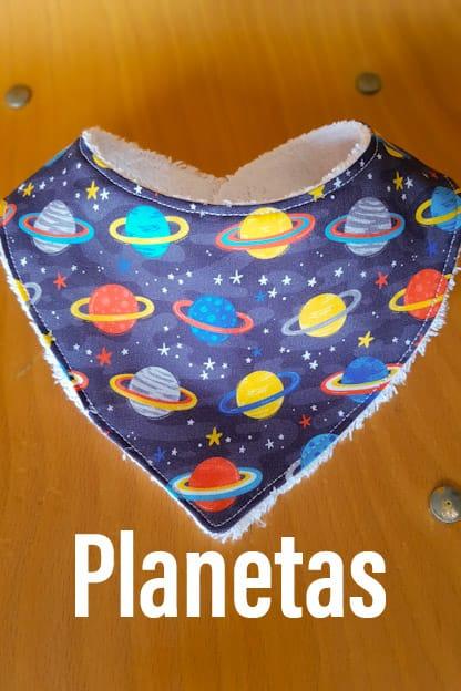 Bandana bebe Planetas