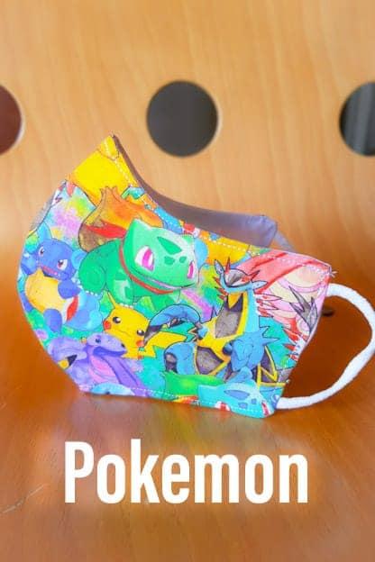 mascarilla Pokemon