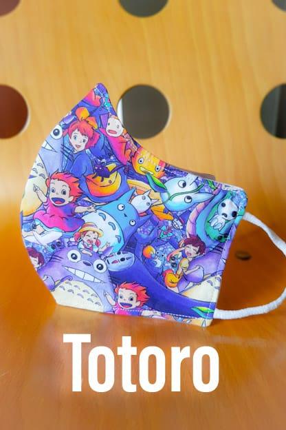 mascarilla Totoro
