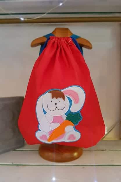 mochila infantil Conejito rojo