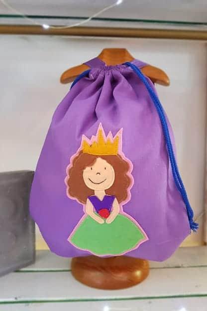 mochila infantil Princesa