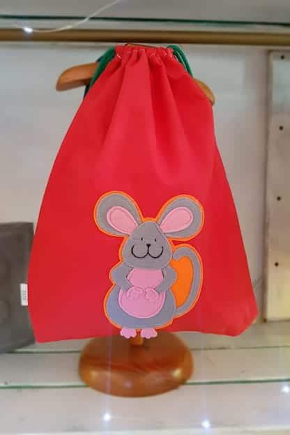 mochila infantil Raton rojo