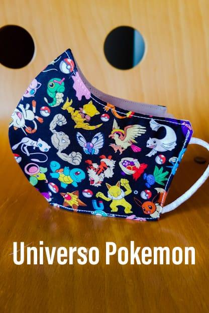mascarilla Universo Pokemon