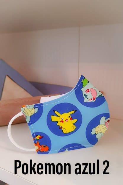 mascarillas infantiles de Pikachu