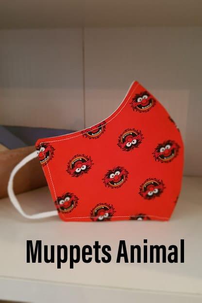 mascarilla de tela Muppets Animal