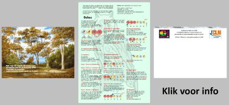 Christelijke spellen: Spelletjeskaart-Oehoe