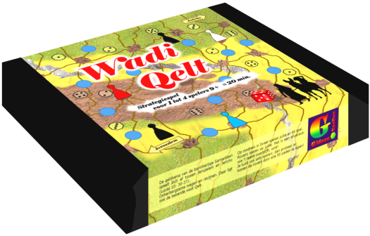 Bordspellen - Wadi Qelt