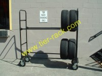 Mobile Tire Racks Display Your Tires To Customers