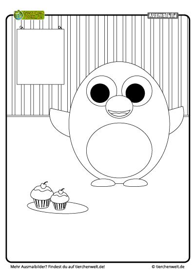 Muffin Malvorlage