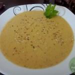 Maronen-Sesam-Suppe