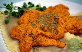 Karottenmatsche zu Teigtaschen – ratz fatz