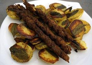 mit Salbei Backofenkartoffeln