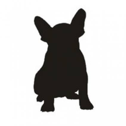 Hunde Pinnwand & Magnettafel & Memoboard Französische