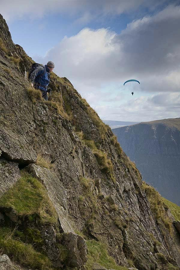 Lake District Landscape Images Helvellyn and Striding
