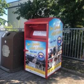 Spendenprojekt Altkleidercontainer