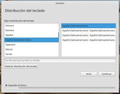 Teclado de Elementary OS