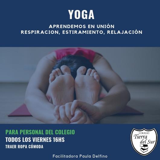 Yoga Colegio Pinamar 1