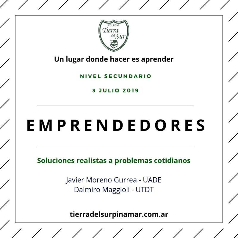 Workshop de emprendedores