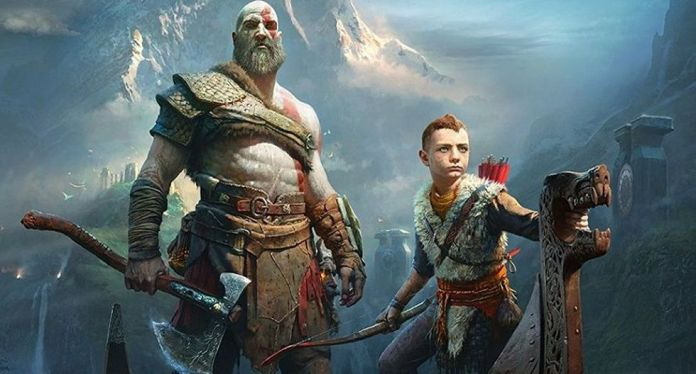 Kratos in God of War for PS4