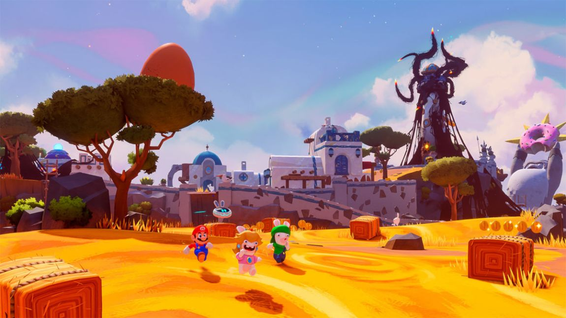 Mario + Rabbids Sparks of Hope leaked ahead of time