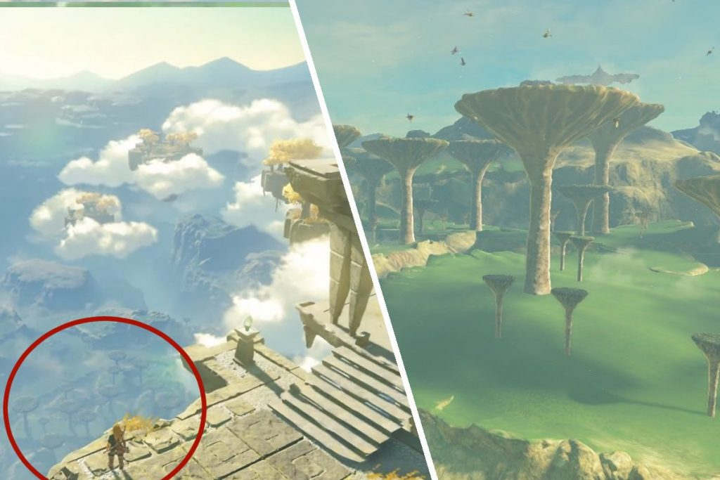 Breath of the wild 2 beings scablands
