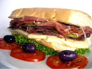 Un Hoagie italiano perfecto y saludable