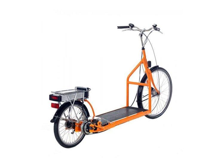 Bicicleta y cinta de correr al aire libre