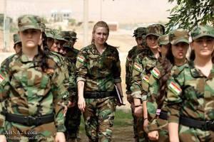 Mujeres que escaparon de ISIS crean Batallón