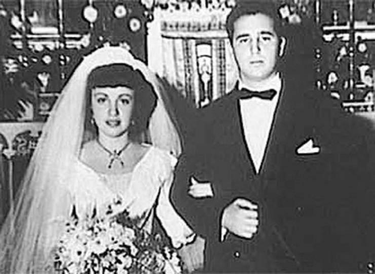 Mirta Díaz Balart y Fidel Castro